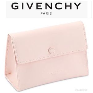 Givenchy Pouch Bag Makeup Case Wristlet Organizer
